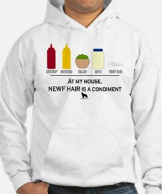 Newf Hair is a Condiment Jumper Hoody