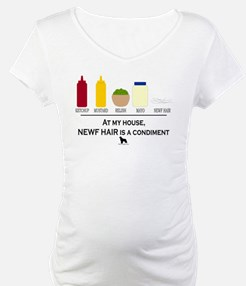 Newf Hair is a Condiment Shirt