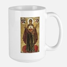 Holy Mary, Mother of God Ceramic Mugs