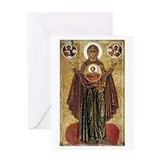 Holy Mary, Mother of God Greeting Card