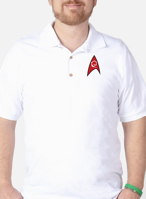 Star Trek TOS Engineer Badge T-Shirt