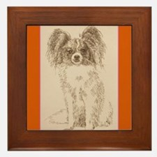 Papillon Framed Tile