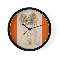 Papillon Wall Clock