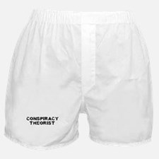 Conspiracy Theorist Boxer Shorts