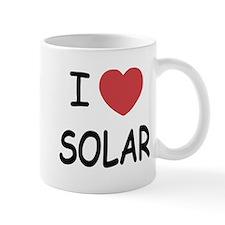 I heart solar Mug