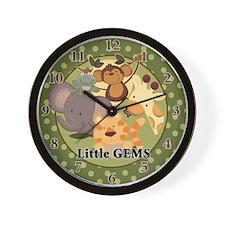 Jungle Safari Wall Clock - Little GEMS