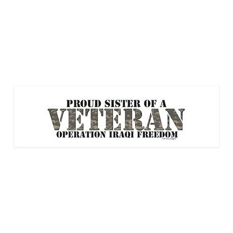 Operation Iraqi Freedom 42x14 Wall Peel