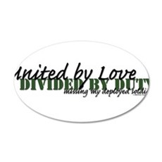 United by Love-Soldier 22x14 Oval Wall Peel