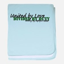 United by Love-Soldier baby blanket