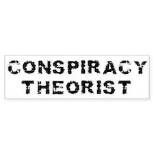 Conspiracy Theorist Bumper Bumper Stickers