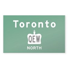 Toronto QEW Bumper Stickers