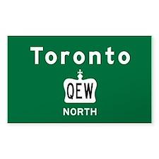 Toronto QEW Decal
