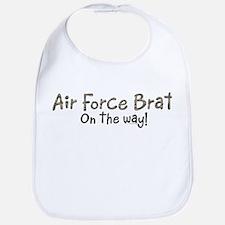 Air Force Brat on the way Bib