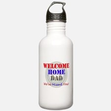 Welcome Home Dad Water Bottle