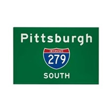 Pittsburgh 279 Rectangle Magnet