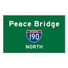 Peace Bridge 190 Decal