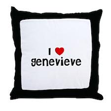 I * Genevieve Throw Pillow