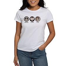 Peace Love Flo Tee