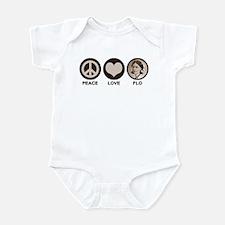 Peace Love Flo Infant Bodysuit