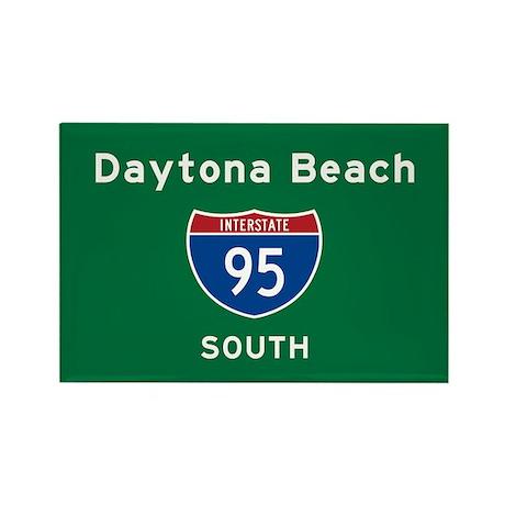 Daytona Beach 95 Rectangle Magnet