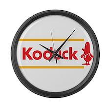 WTD: Koduck Large Wall Clock
