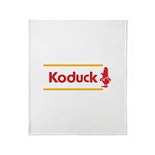 WTD: Koduck Throw Blanket