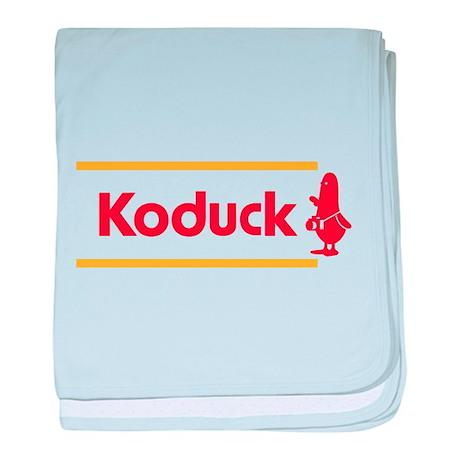 WTD: Koduck baby blanket