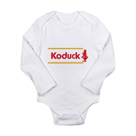 WTD: Koduck Long Sleeve Infant Bodysuit