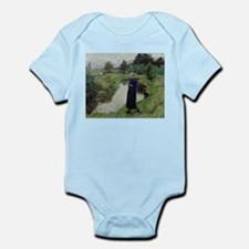 Funny Cattle country Infant Bodysuit