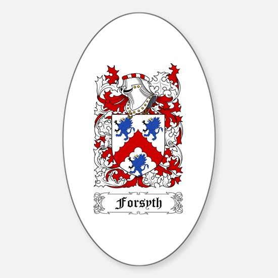 Forsyth Sticker (Oval)