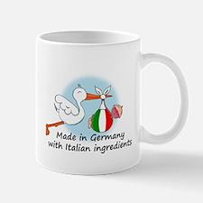 Stork Baby Italy Germany Mug
