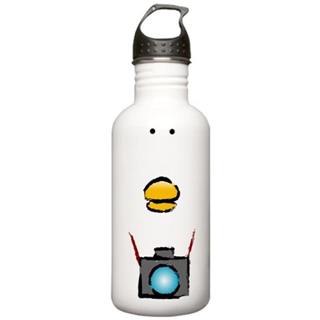 WTD: Big Face Stainless Water Bottle 1.0L