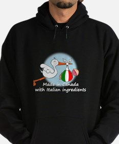 Stork Baby Italy Canada Hoodie