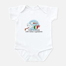 Stork Baby Italy Canada Onesie