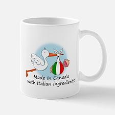 Stork Baby Italy Canada Mug