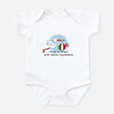 Stork Baby Italy Brazil Infant Bodysuit