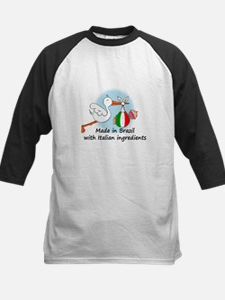 Stork Baby Italy Brazil Tee
