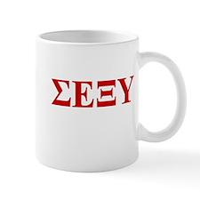 Sigma Epsilon Xi Upsilon (SEXY) Mugs