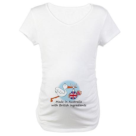 Stork Baby UK Australia Maternity T-Shirt