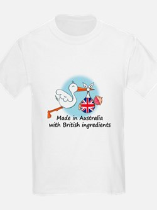 Stork Baby UK Australia T-Shirt