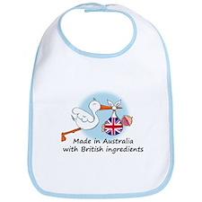 Stork Baby UK Australia Bib