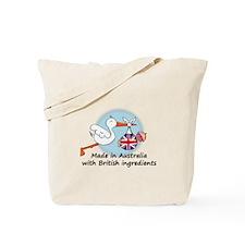 Stork Baby UK Australia Tote Bag