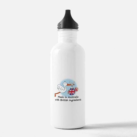 Stork Baby UK Australia Water Bottle