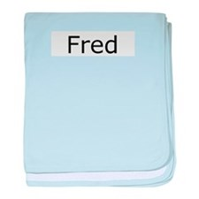 Fred 2 baby blanket