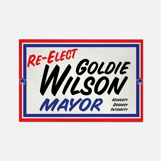 Re-Elect Mayor Goldie Wilson Magnet Magnets