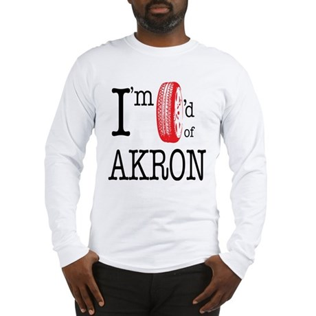 Tired of Akron - Long Sleeve T-Shirt