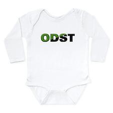 ODST Slant Long Sleeve Infant Bodysuit