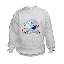 Stork Baby NZ Australia Sweatshirt