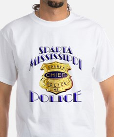 Sparta Police Chief Shirt
