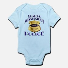 Sparta Police Chief Infant Bodysuit